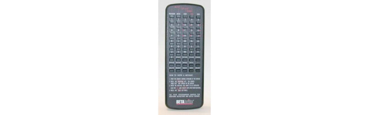 BetaBrite 1036 Remote Control