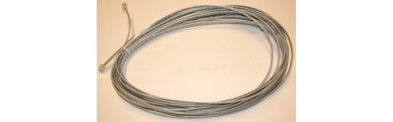 RS232 Modular Cable - 50 Feet