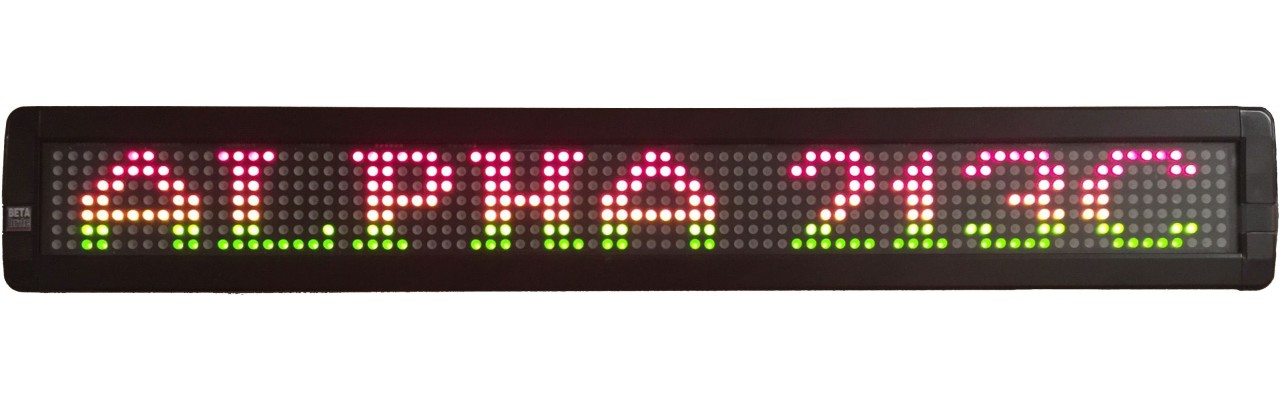 Betabrite 213C Indoor LED Message Center
