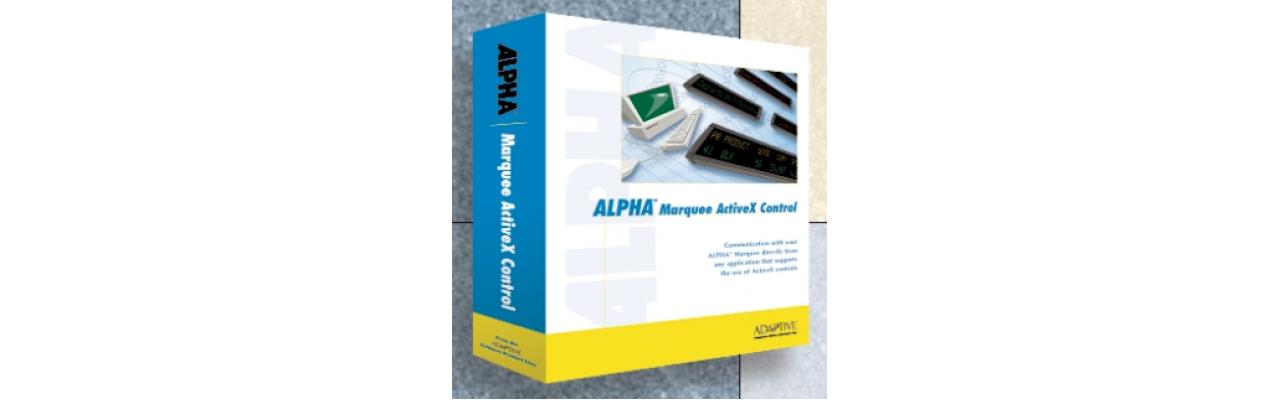 Alpha ActiveX Marquee Control